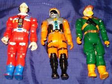 MB297 Vtg Action Figure CHINA Unmarked Mfg x3 Lot