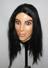 Deluxe Kim Kardashian Mask Latex Overhead Kardashians Fancy Doll Costume Female