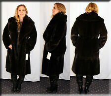 New Reversible Blackglama Mink Fur and Suede Coat Size Medium 6 8 M Efurs4less