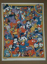 D23 Expo 2017 Disney Afternoon SIGNED Print James Silvani ARTIST PROOF 23/25