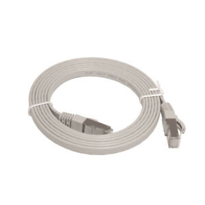 LinITX PRO SERIES FLAT CAT7 UTP ETHERNET PATCH CABLE - 2M GREY