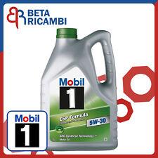 Olio motore Mobil 1 5W30 ESP Formula ACEA C2 C3 API SN Confezione da 5 Litri