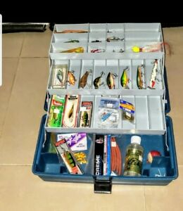 Flambeau tackle box And Extras