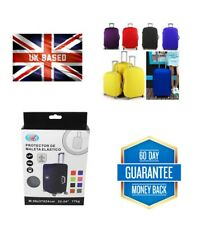Travel Suitcase Luggage Protector Elastic Stretchy Cover Assorted Colou Random
