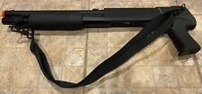 Airsoft SHOTGUN W/ SHELLS and PISTOL GRIP. 6mm bb's, Spring loaded. New