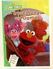 Sesame Street: Elmos Travel Songs and Games (DVD, 2011)