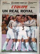 L'Equipe Journal 24/12/2003; Un Real Royal/ Paris 2012/ Arbitrage Basket