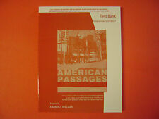 Test Bank for American Passages: A History in the United States by Ayers 4E