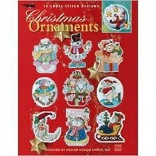 Christmas Ornaments Cross Stitch Chart/Pattern Book - 78 Designs