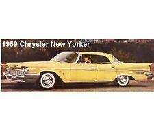 1959 Chrysler New Yorker Refrigerator / Tool Box  Magnet