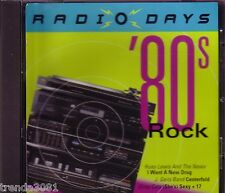 Radio Days 80s Rock CD Classic Greatest STRAY CATS SMITHEREENS POWER STATION