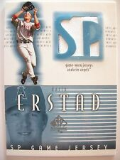 2002 UPPER DECK SP AUTHENTIC GAME USED JERSEY DARRIN ERSTAD !!! BOX # 19