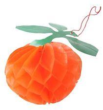 Small Orange Sukkah Decoration- Sukkot Jewish Holiday Israel Judaism Holy Gift