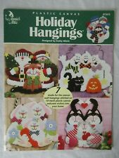 Holiday Hangings 7 Seasonal plastic canvas projects Annie's Attic #872632