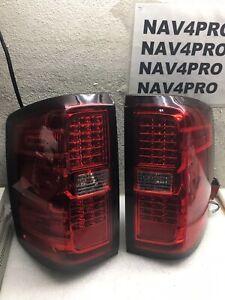 14-16 Chevy Silverado 1500 15-18 2500HD Sierra 3500 LED Tail Light Pair #T180