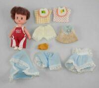 Vintage Dolly Cola Doll - Cola Kids Pop Playmates Extra Clothes Tiny Mini