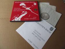 ANDRE NAVARRA UNACCOMPANIED BACH SOLO CELLO SUITES CALLIOPE 3 LP BOX MINT RARE