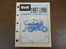 OEM Harley-Davidson 99572-98Y 1997-98 M2 CYCLONE  PARTS CATALOG Used 92 pages