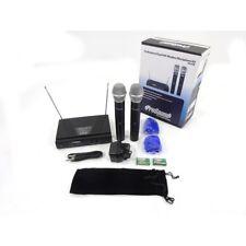 Prosound N47QR Vhf Dual Kit de Micrófono Inalámbrico De Mano Inc Garantía
