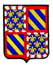 Patch ecusson brodé BOURGOGNE  Blason armoirie drapeau region heraldique