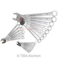 Proxxon 23822 Ring-Maulschlüsselsatz SW 6-32, Ring-Maul-Schlüssel-Set Gabel