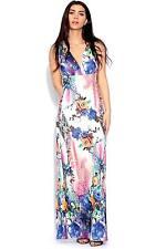 Tall V Neck Sleeveless Maxi Dresses for Women