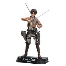 Attack on TITAN Colour Tops Action Figure Eren Jaeger 18 Cm McFarlane Toys