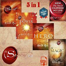 The Secret Series by Rhonda Byrne 5 Books Set, [Digital Edition]