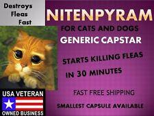 50 Capsules Flea Killer Control Nitenpyram (Capstar) 12mg for Cats & Kittens