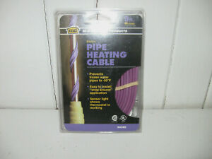 M-D BUILDING PRODUCTS Pipe Heating Cable 9 ft. 18 Watts New #64386