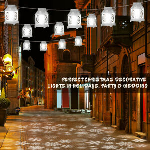 6X Snowflake LED Projection Lamp Christmas Projector Light Xmas Outdoor Decor US