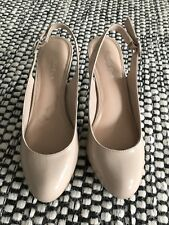 Nude atomic carvela Heels Shoes Size 5 38