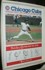 1984 St. Louis Cardinals at Chicago Cubs Scorecard
