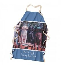 Border Fine Arts Kitchy and Co A28928 Crumb Picking up Team Dog Apron