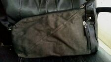 new $300 distressed leather canvas messenger bag y'saccs Yohji yamamoto 3D japan