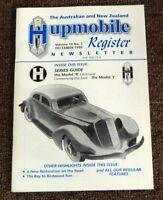 The Australian & New Zealand Hupmobile Register Newsletter 1998 Barry Lake