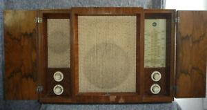Radio Röhrenradio SIEMENS Kammermusik-Schatulle 76W Spitzengerät von 1937/38