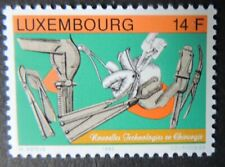 Luxembourg 1993 new surgical techniques medical instruments 1 value MNH