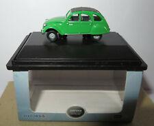 OXFORD CITROEN 2CV BAMBOO GREEN SCALE 1/76 IN BOX #76CT004