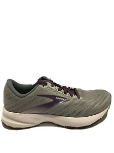 Brooks Women's Launch 7, Gray Road Running Shoes, Size 7, Wide.