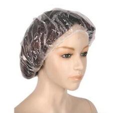 Waterproof 20PC Disposable Clear Hair Salon Home Shower Bathing Elastic Cap