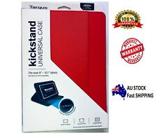 """Targus Red Kickstand Universal Case cover For 9""""-10.1"""" Tablets iPad Samsung"""