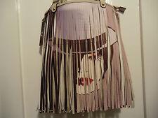 unusal womens face fringe bag