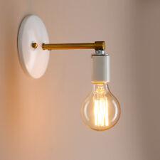 Retro Modern Stil Wandleuchter Lampenhalter Sconce Edison Weiß Schwarz Wandlampe