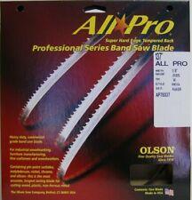 "INCA 3//4/"" X 3 TPI X 80/"" BandSaw Blade Swedish Silicon Steel thin kerf 0.025/"""