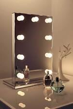 Diamond x finitura a SPECCHIO Hollywood per trucco Specchio Bianco Caldo LED regolabile k219WW