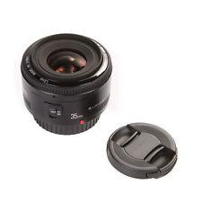 Yongnuo YN 35mm F2 Large Aperture Prime AF & MF Lens for Canon EF EOS + Lens Cap