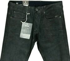 G Star Raw Defend Straight COJ Gray Waxed Jeans Men's 30x32  (A13-12)