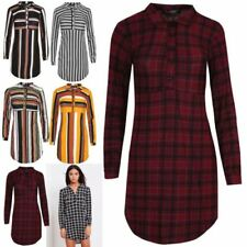 Striped Tops & Shirts for Women with Buttons
