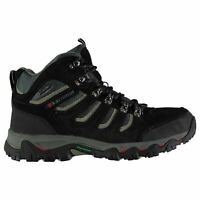 Karrimor Mens Mount Mid Walking Boots Lace Up Breathable Waterproof Padded Ankle